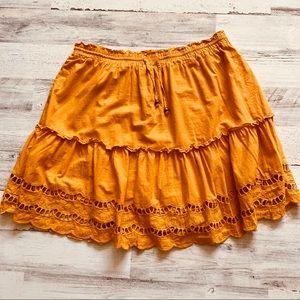 Fashion Nova Aline Ruffle Skirt.Skort 1X
